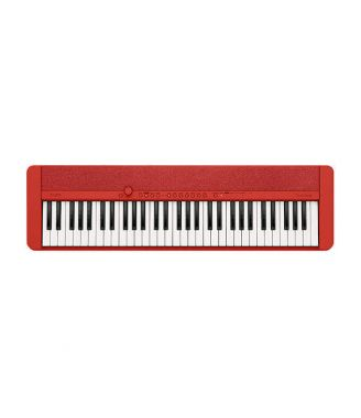 CT-S1 Electronic Keyboard (Red)